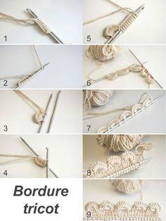 bordure tricot