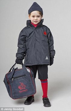 Winter wear: Winter hat: £7 Winter scarf (not pictured): £7 Winter gloves: £7 School jacket: £36 Games bag: £9