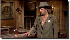 Dean Martin, Rio Bravo, Howard Hawks  Why did lawmen in the Old West wear a Star of David?
