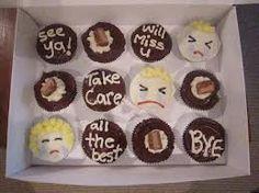 bon voyage miss you cupcakes