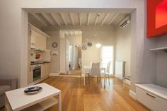 Apartment in Florence, Italy. The apartment, located on the second floor, has a living/dining room with  a fully equipped kitchenette, two bedrooms with  double bed, and a bathroom with a shower. The apartment has, heating,  air conditioning.  PLEASE NOTICE: FROM 2015  THERE I... - Get $25 credit with Airbnb if you sign up with this link http://www.airbnb.com/c/groberts22
