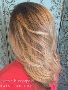 Gorgeous, fresh, blonde hair! #themoment #kaisalonmn #minneapolishair #northloop #nolo #balayage #blonde #blondehair