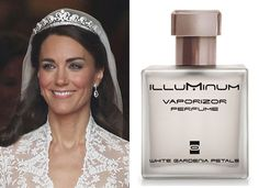 Kate Middelton wore White Gardenia Petals by Illuminum on her Wedding Day..I got a hold of this, and have never let it go! Fantastic..