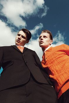"""strangeforeignbeauty: """" Adrien Sahores & Janis Ancens for Kris van Assche Spring/Summer 2014 