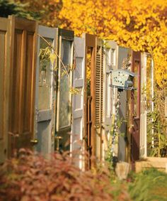 Recycled Fences: 8 Clever Ways to Put Salvage to Good Use from Bob Vila