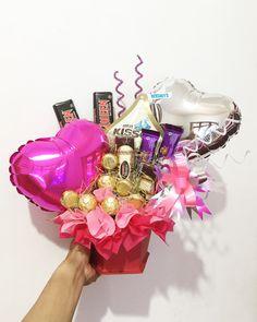 Choco candy bouquet