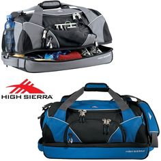 "New High Sierra 24"" Crunk Cross Sport Duffel Bag Includes Lifetime Warranty #HighSierra #DuffleGymBag"