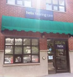 Helix hearing Care's brand new location at place de Armes behind the Rogers K Rock Centre.