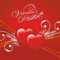 feliz día de San Valentín y, tarjeta de felicitación del día s