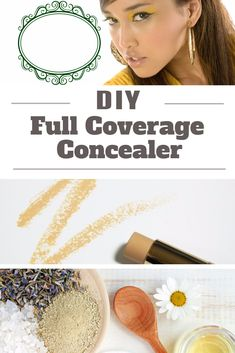 Want a concealer that will offer full coverage and blemish-free looks? Here's a DIY Full Coverage Concealer that's easy to prepare and natural - http://beautynaturalsecrets.com/diy-concealer-for-complete-coverage/
