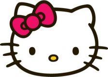 Hello Kitty Head Tattoo