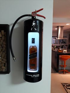 Home Bar Rooms, Diy Home Bar, Bars For Home, Coffee Table Engine Block, I Like Lamp, Jerry Can Mini Bar, Alcohol Dispenser, Man Cave Room, Diy Workbench