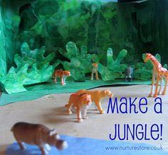 jungle theme preschool craft by Cathy @ Nurturestore.co.uk, via Flickr