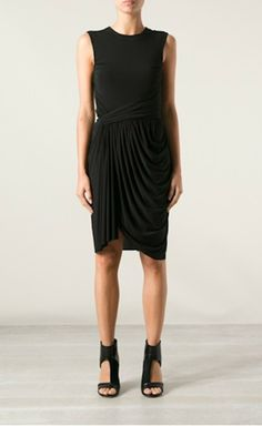 Alexander Wang - simple and sexy. Love the strong feminine draping and shape.
