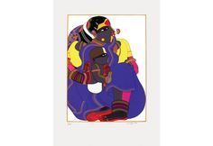 Screen Print by Indian Artist Thota Vaikuntam. This Serigraph was done by Vaikuntam using 48 different colours. Famous Indian Artists, Female Characters, Disney Characters, Fictional Characters, Different Colors, Screen Printing, Colours, Paintings, Disney Princess