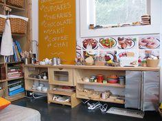 Lokaal inrichten met thema restaurant! Inclusief keuken, tafels, menu etc.
