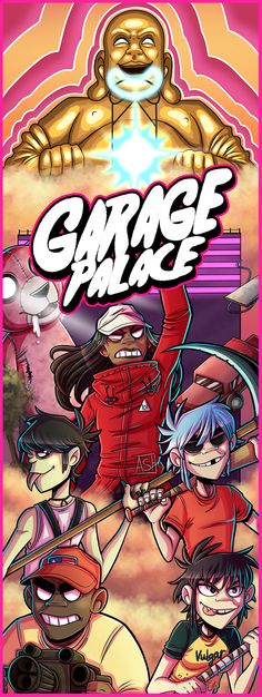 Garage Palace Finally finished my picture for Garage Palace, I kept putting it off because I wanted to do the song justice, I hope I did :D