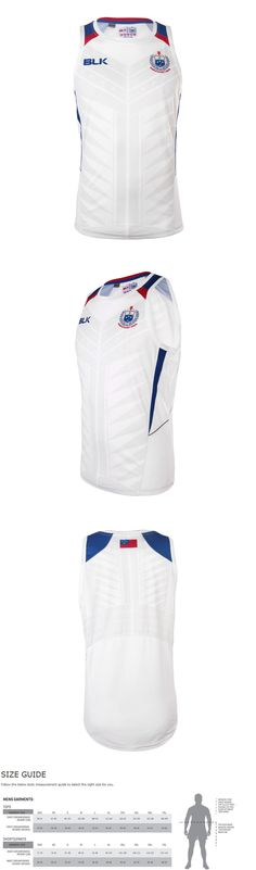 Rugby 21563: Samoa Rugby Union Official World Cup Players White Training Singlet! Bnwt S! 5 -> BUY IT NOW ONLY: $49.95 on eBay!