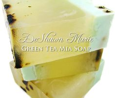 SOAP  Green Tea Mia Soap Handmade Soap Vegan Soap by DeShawnMarie