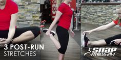 Stretch out your tired muscles! Try these three moves to target your quads, hip flexors, and hamstrings.