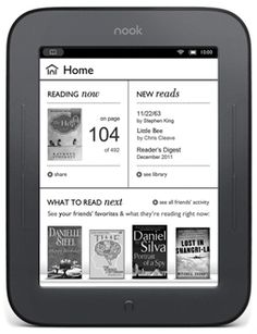 NOOK Simple Touch™ by Barnes & Noble. $99.00
