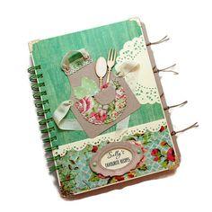 Personalized Recipe Journal  Custom Recipe by PreciousLifeMoments