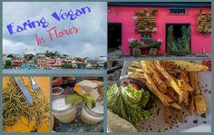 Where to eat vegan food in Flores, Guatemala - Journey of a Nomadic Family Vegan Burrito, Vegan Nachos, Vegan Burgers, Vegetarian Desserts, Vegetarian Pizza, Vegan Recipes, Eating Vegan, Vegan Food, Chips Restaurant