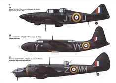 RAF night fighters 1940