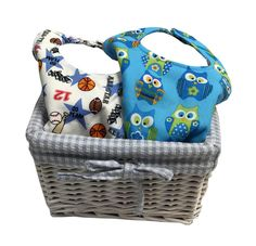 Best baby boy gift basket personalized baby gift baby boy gift personalized baby gift basket boys handcrafted bibs negle Images