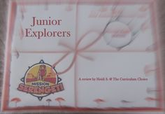Junior Explorers Review - a subscription service for students interested in nature. Includes monthly missions!