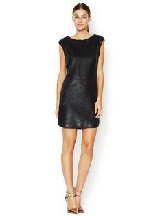 Caviar Sequin Shift Dress