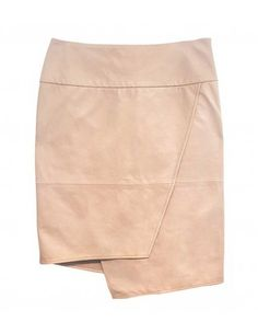 Кожа Wrap юбка