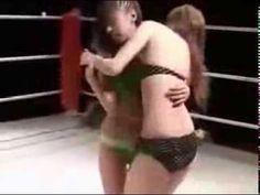 Women's struggle without rules  Female Japanese wrestling  女性のレスリング