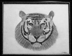 DT Mann- graphite on canvas