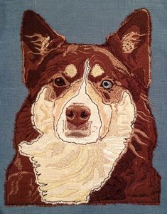 Applique Designs, Machine Embroidery Designs, Aussie Shepherd, Raw Edge Applique, Animal Quilts, Different Dogs, Handmade Cushions, Image List, Embroidery Files