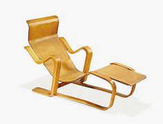 (/) Marcel Breuer Long chair 1936