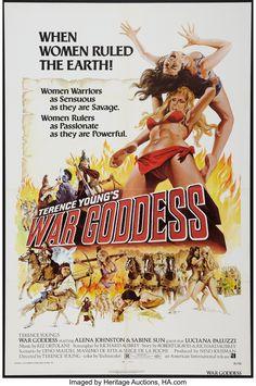 Riz Ortolani : War Goddess (Le Guerriere Dal Seno Nudo/Le Amazzoni) (with bonus tracks) (CD) Classic Movie Posters, Movie Poster Art, Classic Movies, Original Movie Posters, Poster Poster, Poster Prints, Cinema Posters, Film Posters, Cult Movies