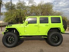 Love this jeep Green Jeep Wrangler, Jeep Wrangler Girl, Jeep Wrangler Rubicon, Jeep Wrangler Unlimited, Jeep Wranglers, Dream Cars, My Dream Car, Jeep Jl, Jeep Truck