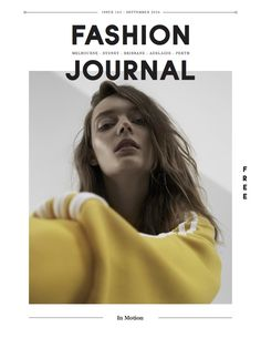 Fashion Journal 161   In Motion