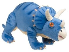 InStyle Home Collection Dinoland Triceratops Pillow by InStyle. $9.98. Measures 8 by 23 by 10 inches. Coordinates with Dinoland bedding collection and others. Made in China of 100-percent polyester; spot clean only. Blue pillow is shaped like a Triceratops dinosaur. Decorative pillow as an accessory piece. Who said dinosaurs are extinct? They may have roamed the earth millions of years ago, but they are still roaming many boys' rooms!  This bed set features a multitude of di...