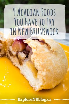 Here are 9 delicious ways to get a taste of the homey, hearty cuisine of Acadie. Canadian Food, Canadian Recipes, Great Recipes, Favorite Recipes, Good Food, Yummy Food, New Brunswick, Food To Make, Food And Drink