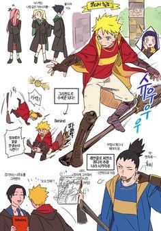 Inséré Naruto Hogwarts au