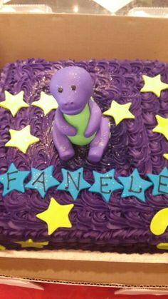 Belle's Barney birthday cake for kids