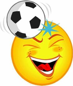 Smileys Emojis Soccer ball Football Source by Smiley Emoji, Smiley T Shirt, Emoji Faces, Emoticons, Smileys, Romantic Pictures, Love Pictures, Birthday Wishes Flowers, Emoji Craft