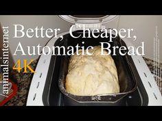 Cómo hacer pan con máquina panificadora automática Silvercrest LIDL SBB 850 A1 paso a paso 4K UHD - YouTube
