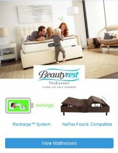 Read all about the new Beautyrest TruEnergy mattress, available at Mattress Factory stores.