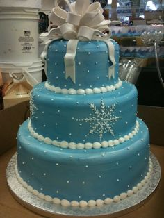 for a winter wonderland sweet 16