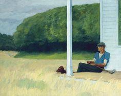 Edward Hopper  so good so simple so brilliant he got's it!