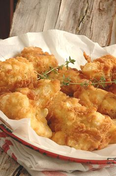 The Colonel's French Fried Cauliflower - My Easy Cooking