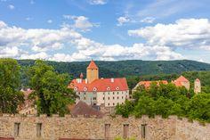 Hrad Veveří Brno Czech republik.